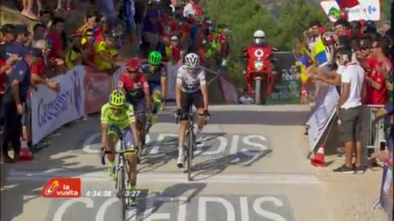 Матиас Франк - победитель 17-го этапа Вуэльты Испании-2016