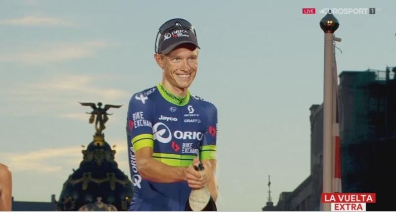 Магнус Корт Нильсен - победитель 21-го этапа Вуэльты Испании-2016