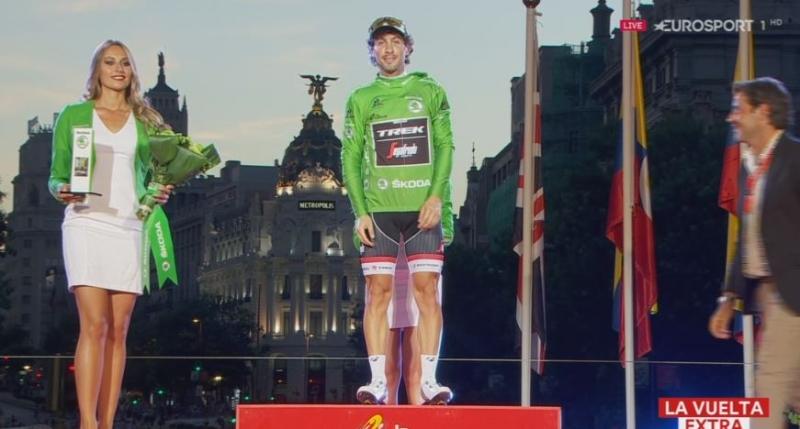 Фабио Феллине - победитель очковой классификации Вуэльты Испании-2016