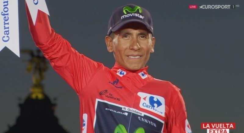 Наиро Кинтана в команде Movistar до конца 2019 года