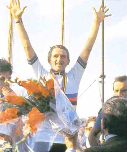 Проклятие радужной майки: Фредди Мартенс – чемпион мира по шоссейному велоспорту 1976 и 1981 года