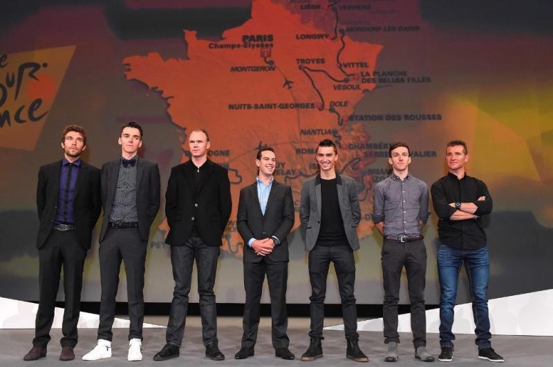 Дэн Мартин и Жулиан Алафилипп о маршруте Тур де Франс-2017