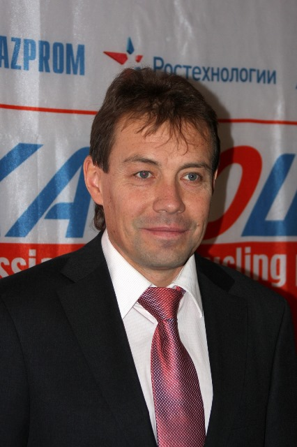 Вячеслав Екимов - новый президент Федерации велосипедного спорта России