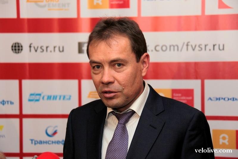 Пресс-конференция Вячеслава Екимова после избрания президентом ФВСР
