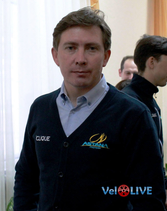 Дмитрий Фофонов: «Велокоманда «Астана» всегда ставит большие цели!»