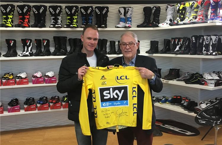 Крис Фрум о велотуфлях Sidi, в которых трижды выиграл Тур де Франс