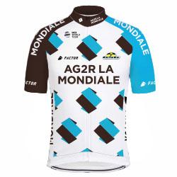 Команды ПроТура 2017: AG2R La Mondiale (ALM) - FRA