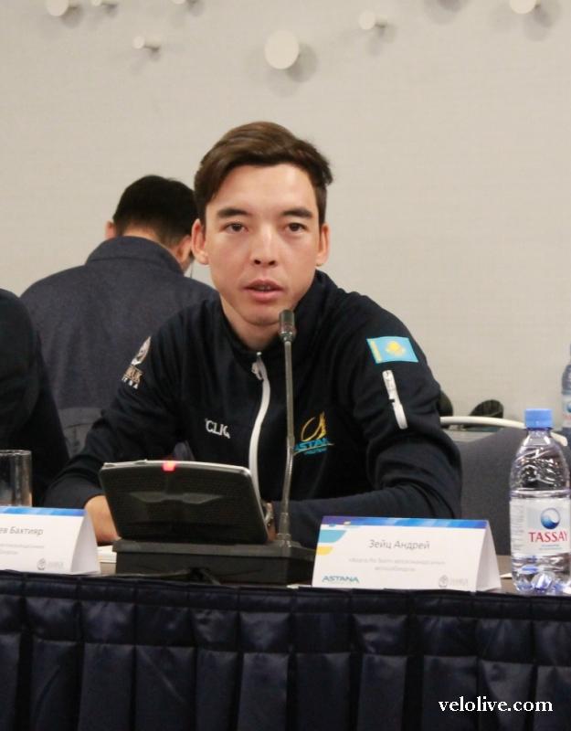 Бахтияр Кожатаев: «Цель - победа на этапе Тур де Франс-2017»