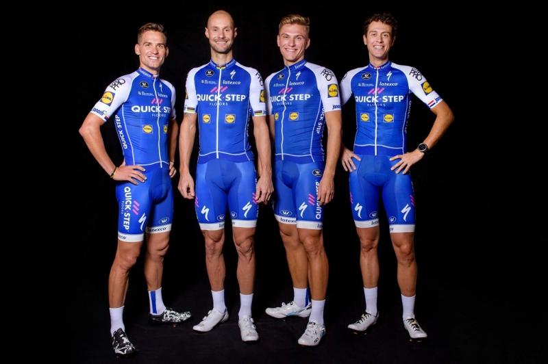 Команда Quick-Step Floors представила велоформу на 2017 год