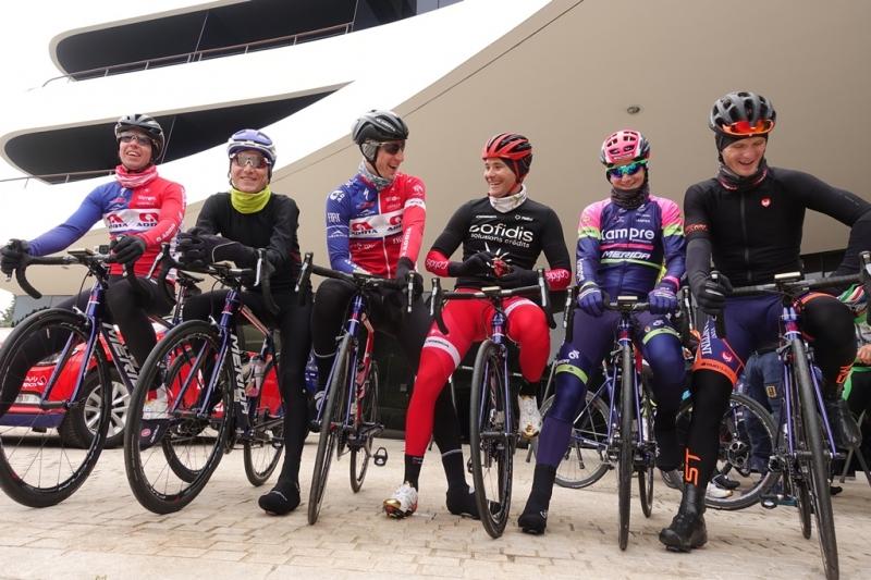 Первый тренировочный лагерь команды Bahrain-Merida