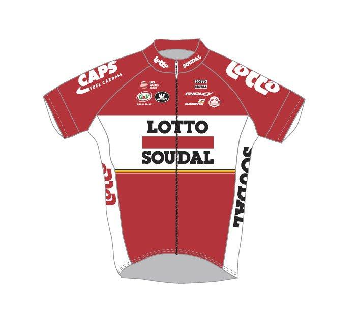 Команды Мирового Тура 2017: Lotto Soudal (LTS) - BEL