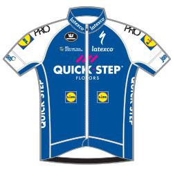 Команды Мирового Тура 2017: Quick Step Floors (QST) - BEL