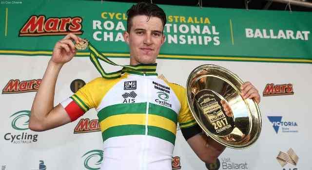 Майлз Скотсон – чемпион Австралии 2017 года в групповой гонке