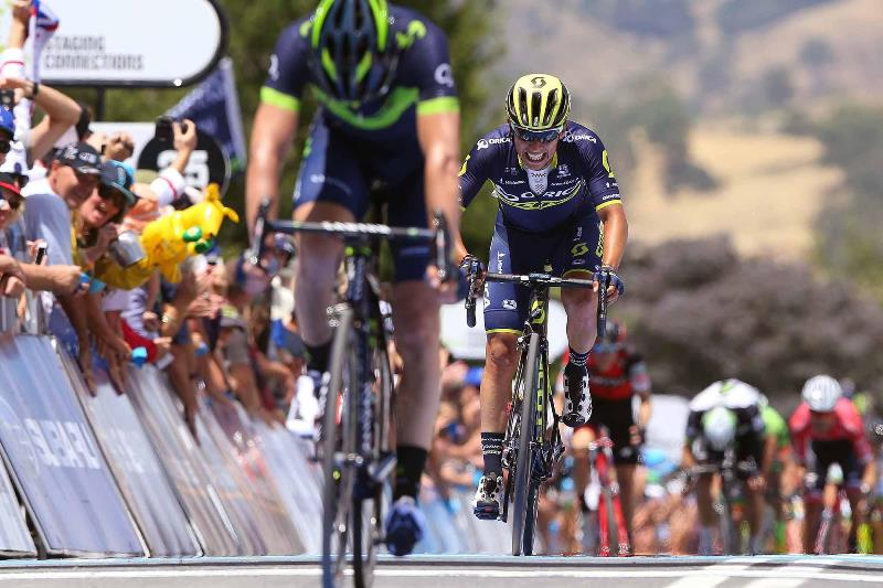 Ричи Порт, Хосе-Луис Арриета, Эстебан Чавес и Джей МакКарти о 2-м этапе Тура Даун Андер-2017