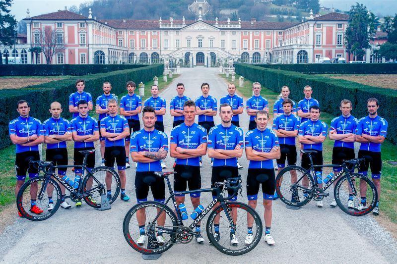 Команда Gazprom – RusVelo получила приглашение на Giro d'Italia 2017