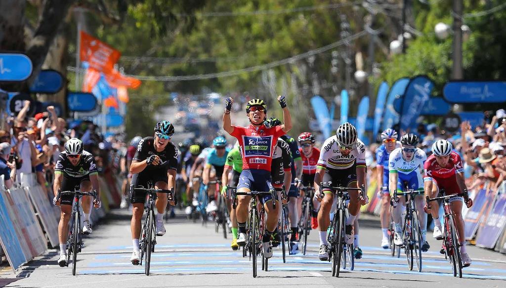 Хет-трик Калеба Юэна на 4-м этапе Тура Даун Андер-2017
