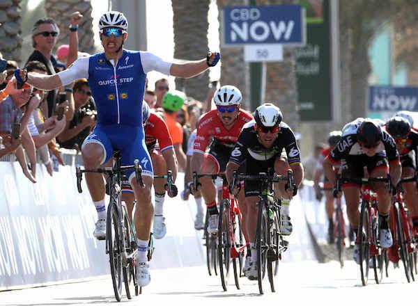 Дилан Груневеген, Марк Кэвендиш и Джон Дегенкольб о 1-м этапе Тура Дубая-2017