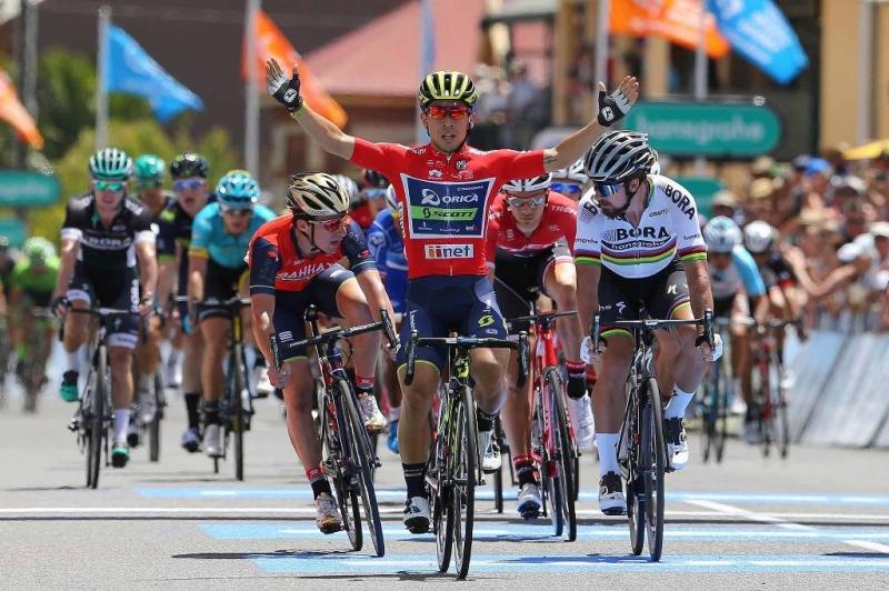 Калеб Юэн, Петер Саган, Ричи Порт о 3-м этапе Тура Даун Андер-2017