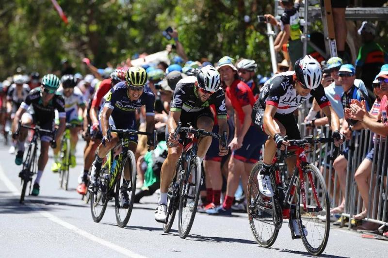 Эстебан Чавес, Натан Хаас, Джей МакКарти о 5-м этапе Тура Даун Андер-2017