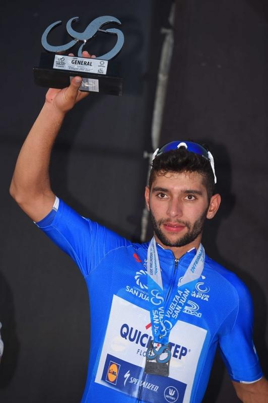 Фернандо Гавирия - победитель 1-го этапа Тура Сан-Хуан-2017
