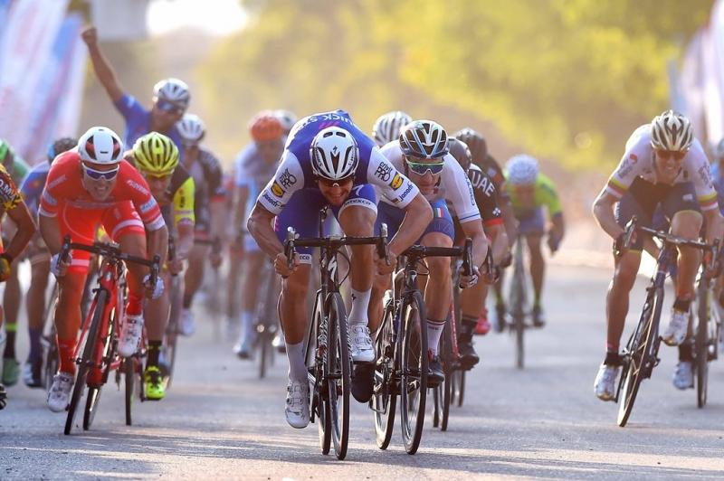 Том Боонен и Элиа Вивиани о 2-м этапе Тура Сан-Хуан-2017