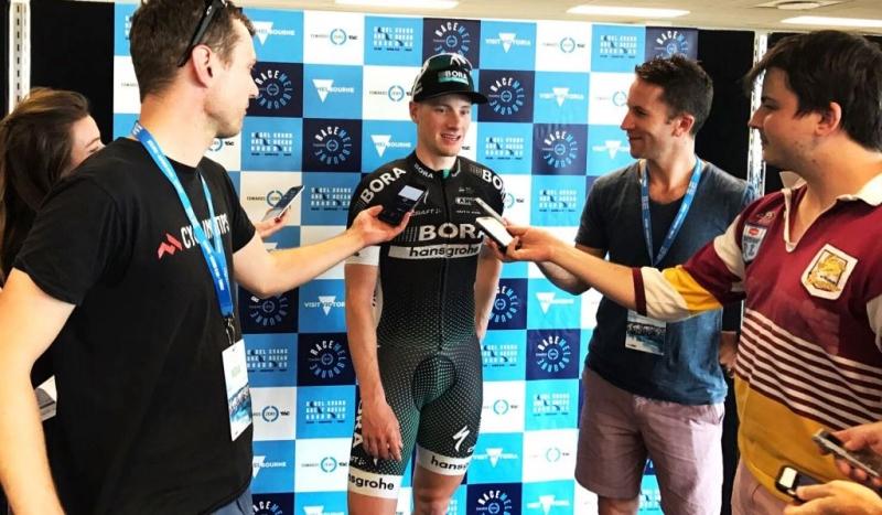 Сэм Беннетт - победитель критериума Race Melbourne-2017