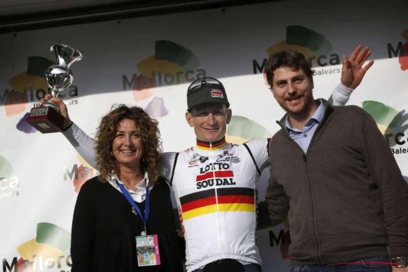 Андре Грайпель - победитель Trofeo Porreres, первой из четырёх гонок серии Mallorca Challenge