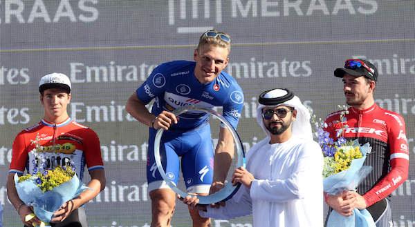 Dylan Groenewegen и John Degenkolb - призёры Dubai Tour-2017