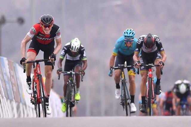 Бен Херманс, Руй Кошта и Якоб Фугльсанг о 2-м этапе Тура Омана-2017