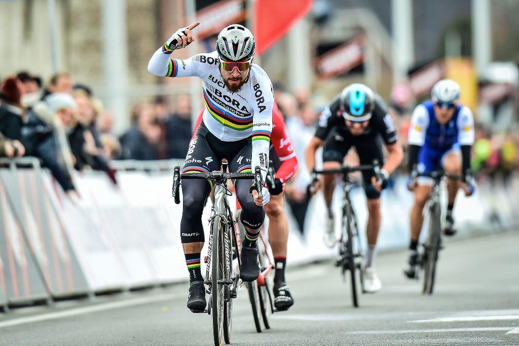 Первая победа Петера Сагана в команде Bora-Hansgrohe