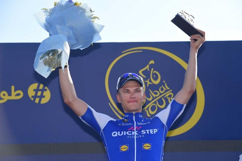 Марсель Киттель делает дубль, выиграв 2-й этап Тура Дубая-2017