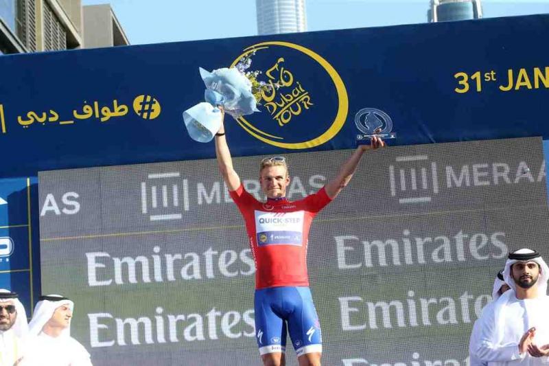 Марсель Киттель выигрывает финальный этап и побеждает в общем зачёте Тура Дубая-2017
