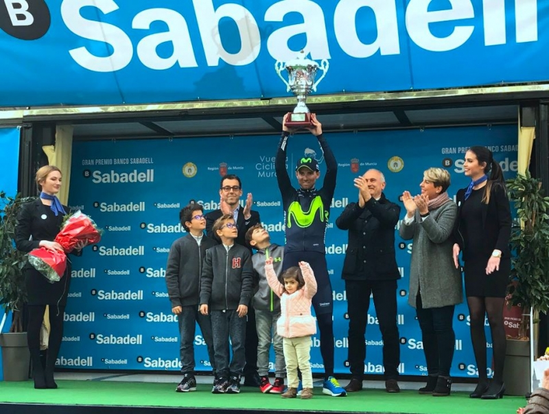 Алехандро Вальверде - победитель Вуэльты Мурсии-2017