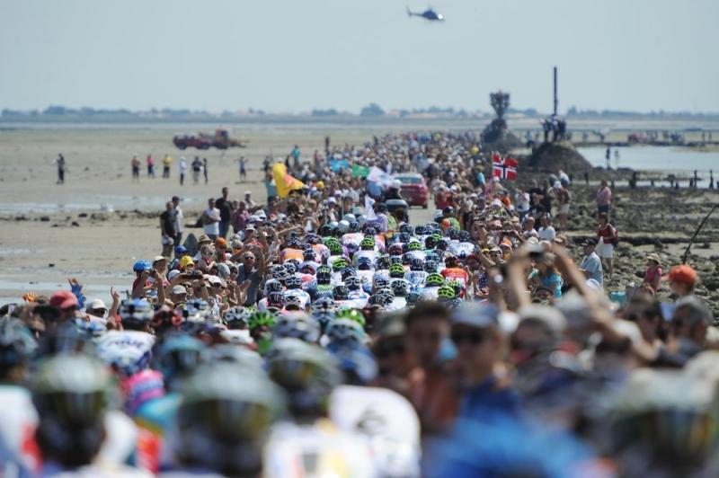 Tour de France-2018 стартует в регионе Земли Луары на западе Франции