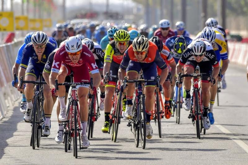 Александр Кристофф – победитель 1-го этапа Тура Омана-2017