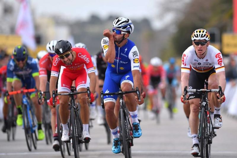 Фернандо Гавирия - победитель 1-го этапа Вольты Альгарве-2017