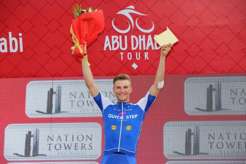 Марсель Киттель, Калеб Юэн и Марк Кэвендиш о 2-м этапе Тура Абу-Даби-2017