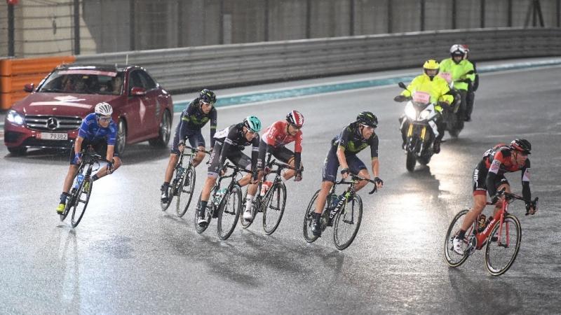 Александр Порсев восьмой на заключительном этапе «Абу-Даби Тура»
