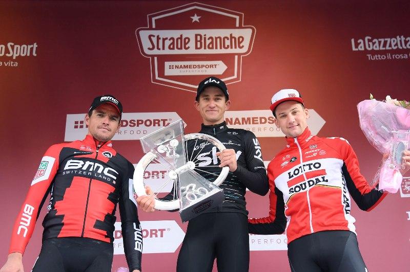 Грег Ван Авермат и Тим Велленс - призёры Страде Бьянке-2017