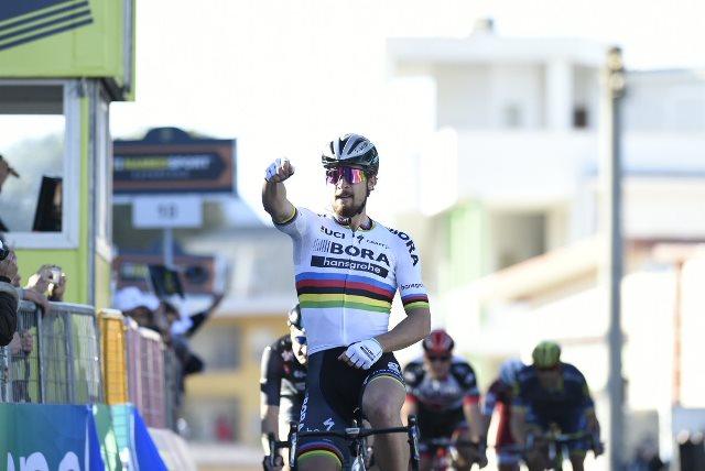 Петер Саган – победитель 3 этапа Тиррено-Адриатико-2017