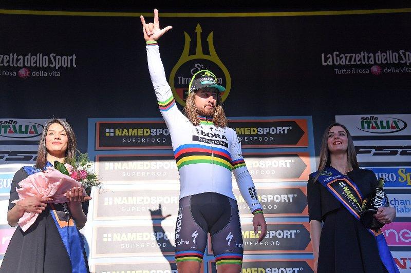 Петер Саган и Наиро Кинтана о 5-м этапе Тиррено-Адриатико-2017
