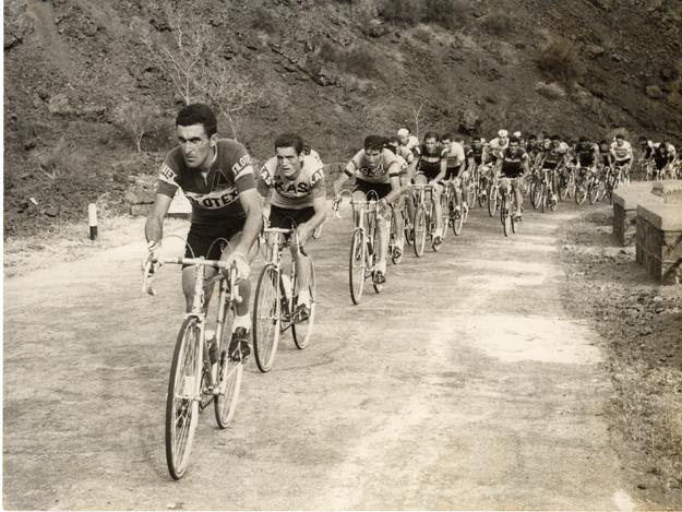 Джиро д'Италия-1967, 7-й этап, Катания - Вулкан Этна, 169 км, Франко Битосси (Franco Bitossi)