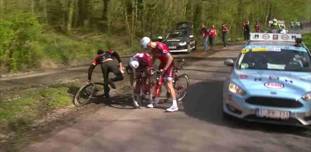 Неудача команды Katusha-Alpecin на Гент-Вевельгем-2017