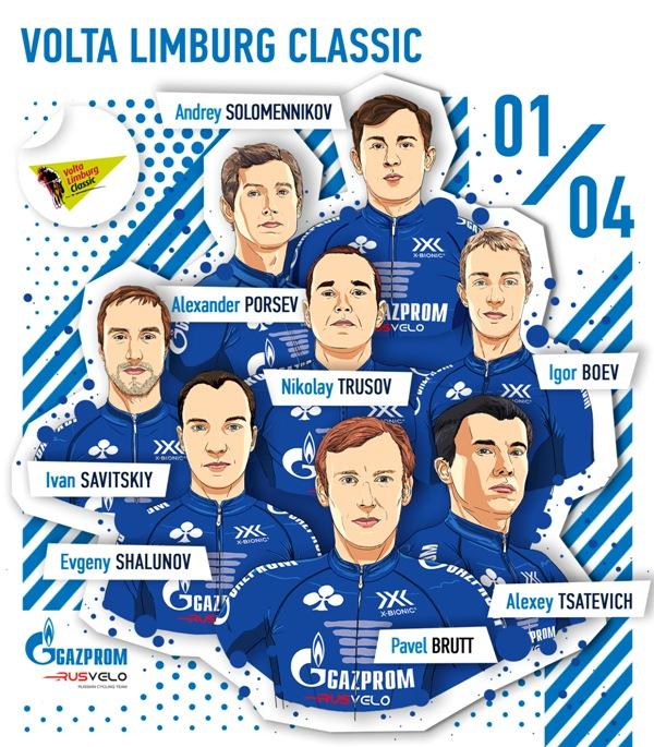 «Вольта Лимбург Классик» станет первой гонкой Gapzrom – RusVelo в апреле