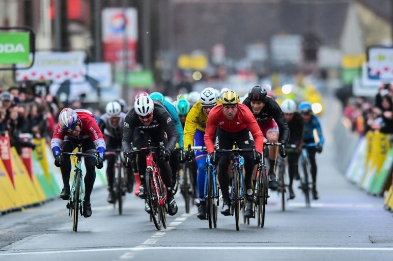 Сонни Кольбрелли, Джон Дегенкольб и Арно Демар о 2-м этапе  гонки Париж-Ницца-2017
