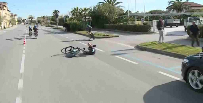 Дамиано Карузо, Герант Томас и Примож Роглич о 1-м этапе Тиррено-Адриатико-2017