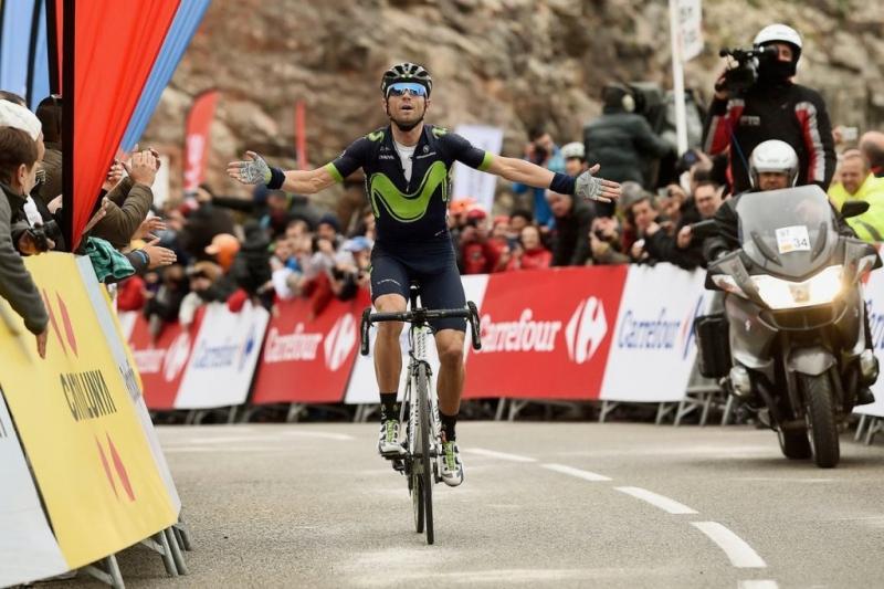 Алехандро Вальверде, Крис Фрум, Альберто Контадор о 5-м этапе Вуэльты Каталонии-2017