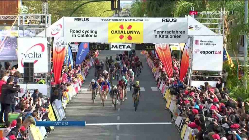 Дэрил Импи – победитель 6-го этапа Вуэльты Каталонии-2017