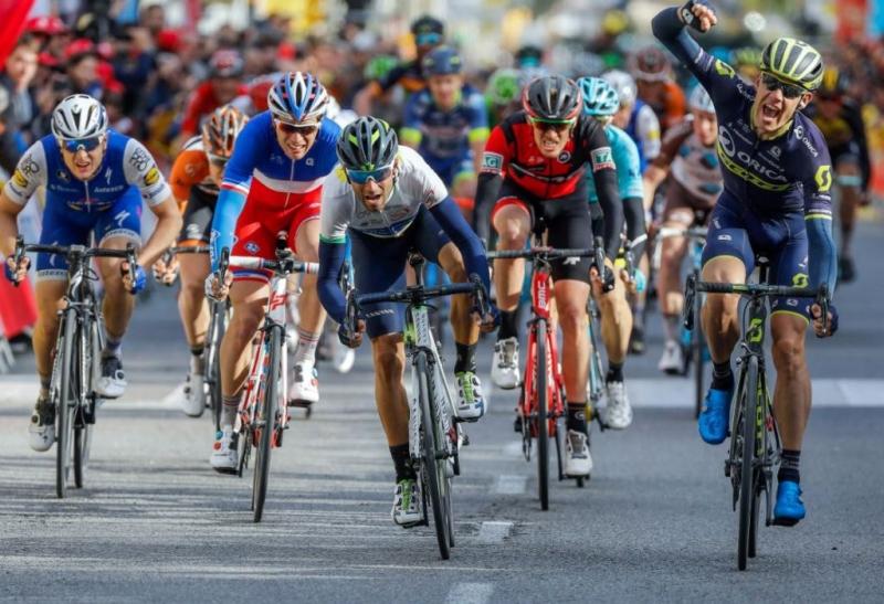 Алехандро Вальверде,  Альберто Контадор и Крис Фрум о 6-м этапе Вуэльты Каталонии-2017