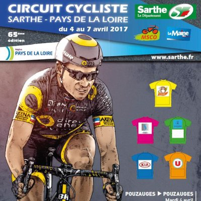 Circuit Cycliste Sarthe - 2017. Этап 2b